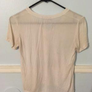 White Brandy Melville t shirt